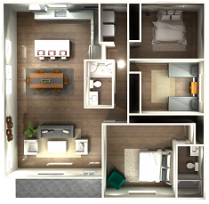 3D Floor Plan from Experts In Your Home