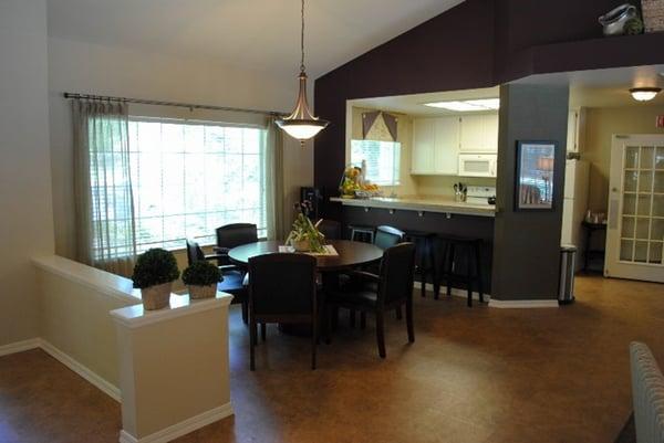 Before shot kitchen area