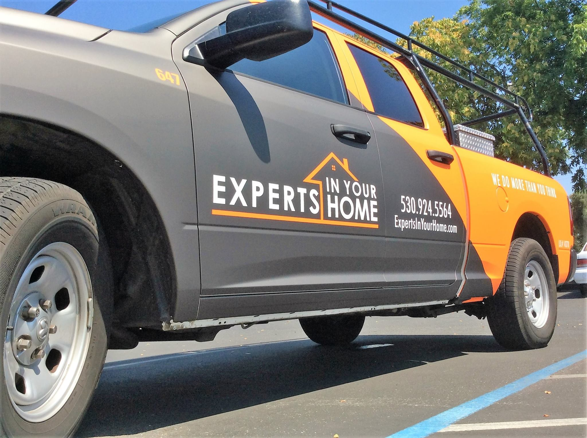 Experts In Your Home Truck