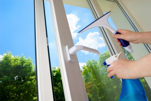 home_window_being_cleaned