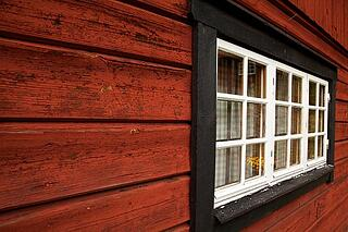 house_with_wood_siding_and_window