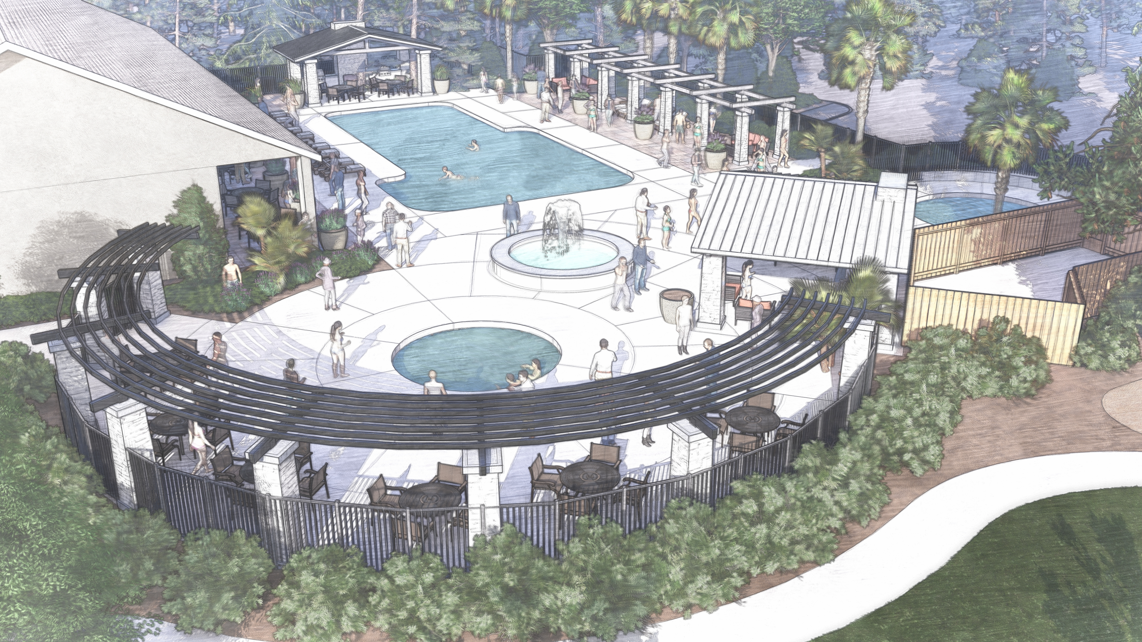 Forest Ave_Pool Area