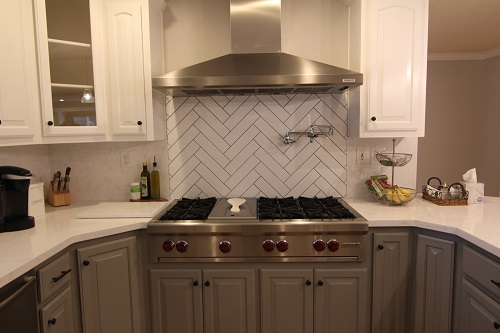 Kitchen remodeled by Experts In Your Home