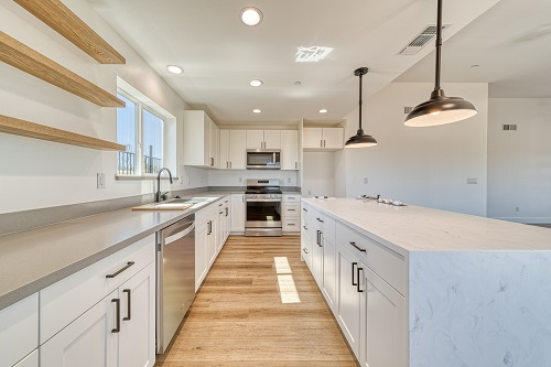 Kitchen Counters and Island