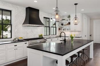beautiful finished kitchen