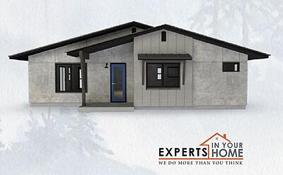 predesigned exterior rendering from Experts In Your Home